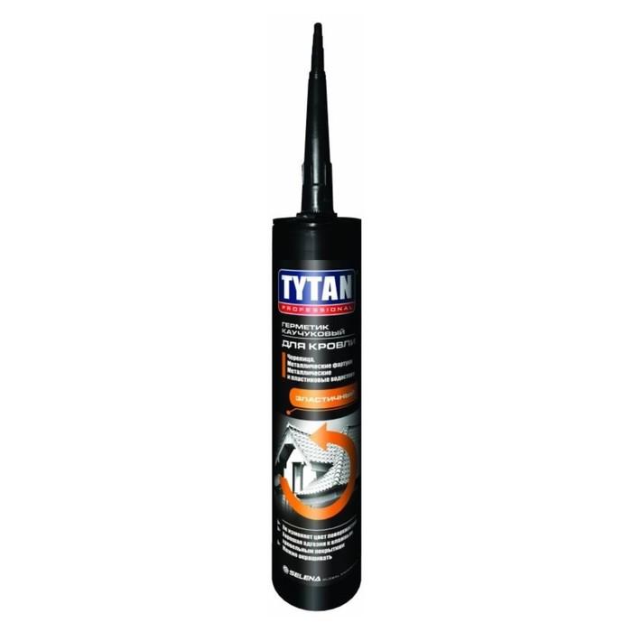 Герметик Tytan Professional (91530), каучуковый, для кровли, красный, 310 мл