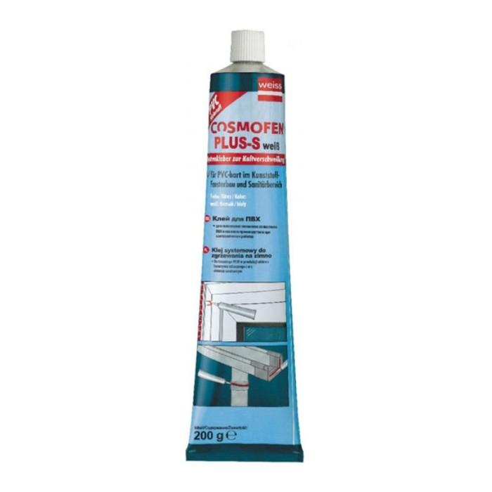 Клей Космофен PLUS-S, белый, WEIB, алюминиевый мембранный тюбик, 200 гр