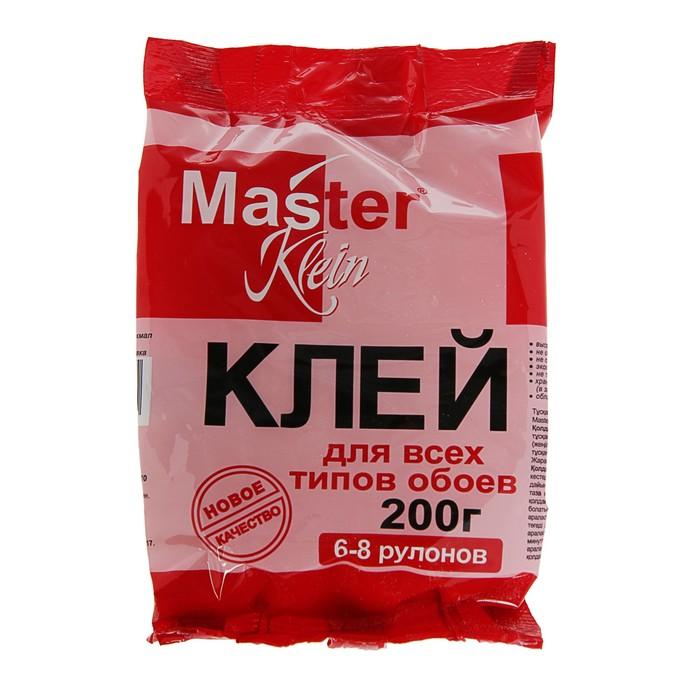 Клей обойный Master Klein, для всех типов обоев, 200 г
