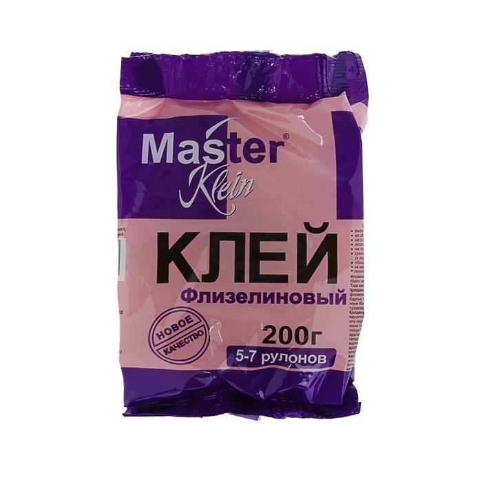 Клей обойный Master Klein, для флизелиновых обоев, 200 г
