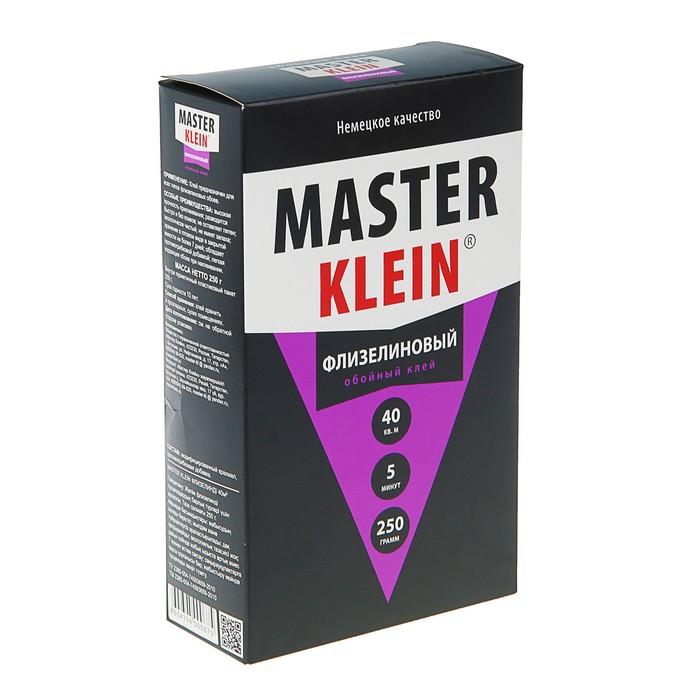 Клей обойный Master Klein, для флизелиновых обоев, 250 г