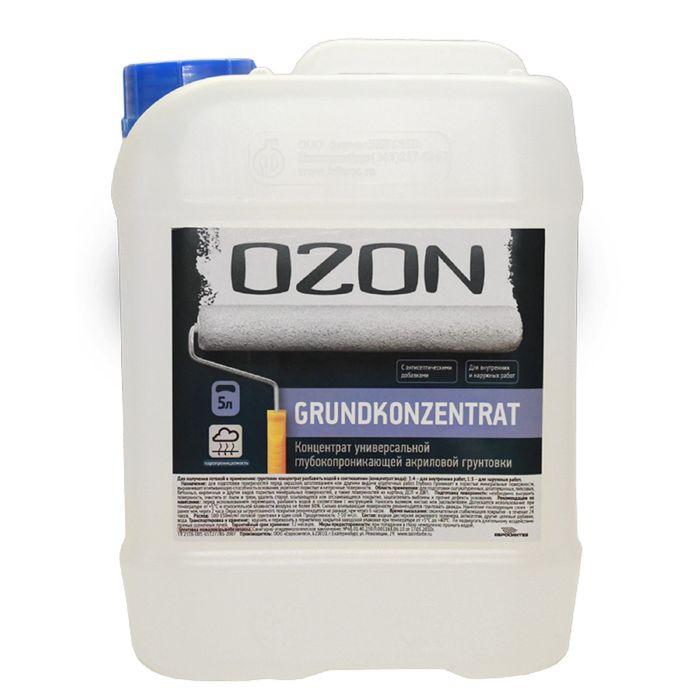 Грунт-концентрат OZON GrundKonzentrat ВД-АК 016М акриловая 50 л