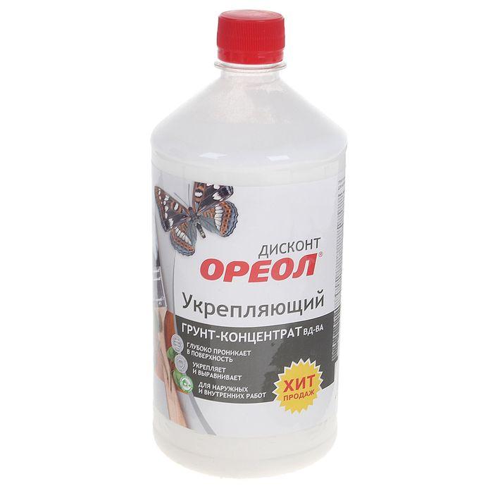 Грунт-концентрат Ореол  для наружных и внутренних работ 1 кг