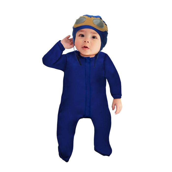 """Карнавальный костюм """"Летчик малышок"""", ползунки,пилотка, 6-9 месяцев, рост 75 см."""