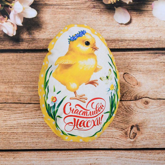 Пасхальный сувенир на магните «Цыплёнок», 6.5×9.7 см
