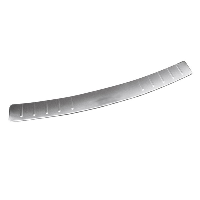 Накладка на задний бампер Dollex, Chevrolet Lacetti, универсал, нержавеющая сталь