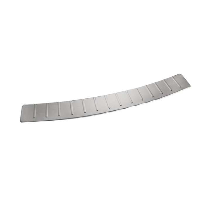 Накладка на задний бампер Dollex, Hover H3, H5, нержавеющая сталь