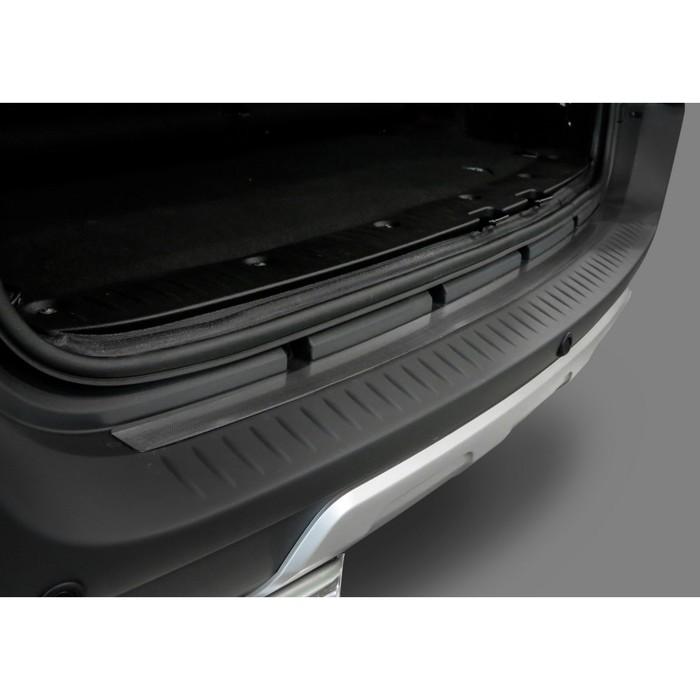 Накладка на задний бампер Rival для Lada Largus 2012-н.в., нерж. сталь, 1 шт., NB.6001.1