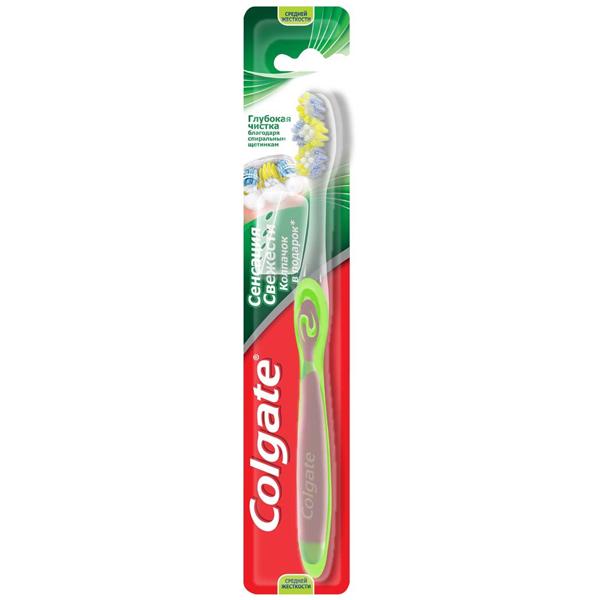 Зубная щетка Colgate Сенсация свежести
