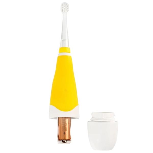 Электрическая звуковая зубная щетка CS Medica CS-561 Kids (Жёлтая)