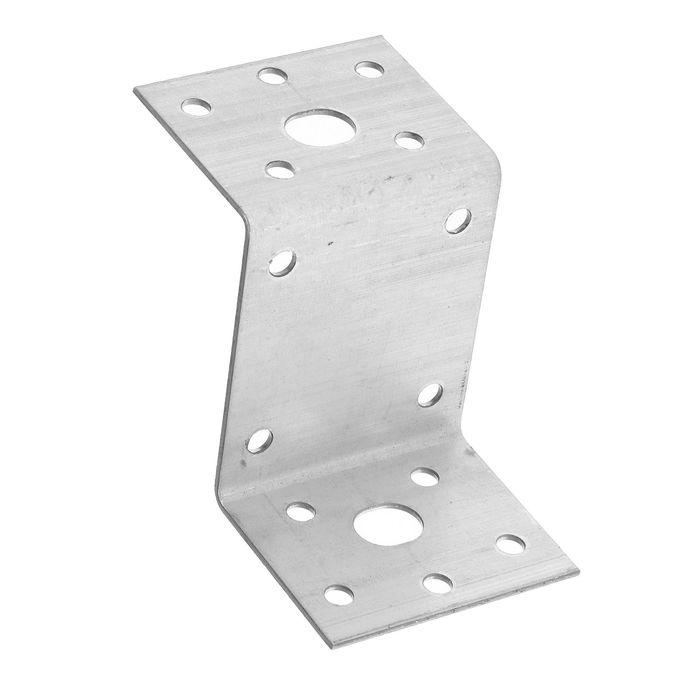 Уголок крепежный Z-образный TUNDRA krep, 45х90х65х2 мм