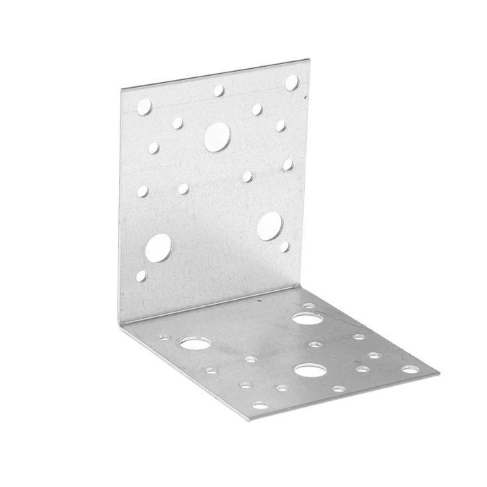Уголок крепежный TUNDRA krep, 105х105х90х2 мм