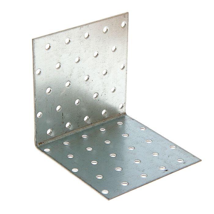 Уголок крепёжный 100 х 100 х 100 х 2 мм, оцинкованный