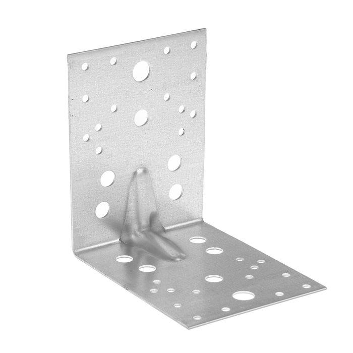 Уголок крепежный усиленный TUNDRA krep, 130х130х100х2 мм