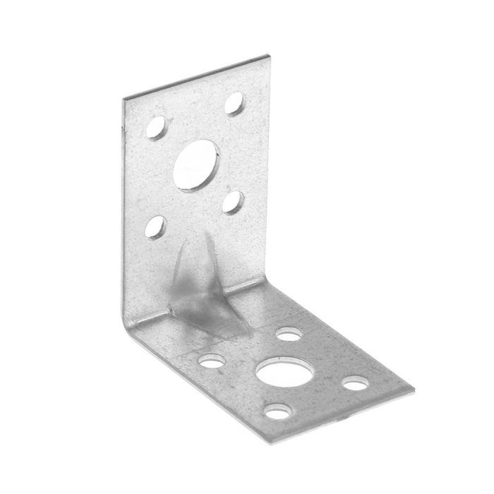 Уголок крепежный усиленный TUNDRA krep, 50х50х35х2 мм, в упаковке 100 шт.