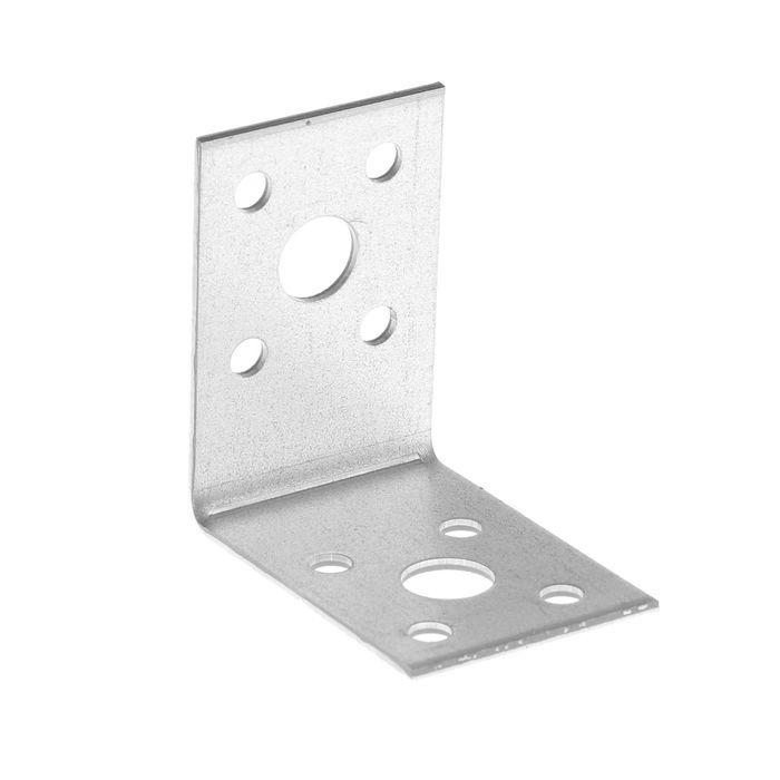 Уголок крепежный TUNDRA krep, 50х50х35х2 мм, в упаковке 100 шт.