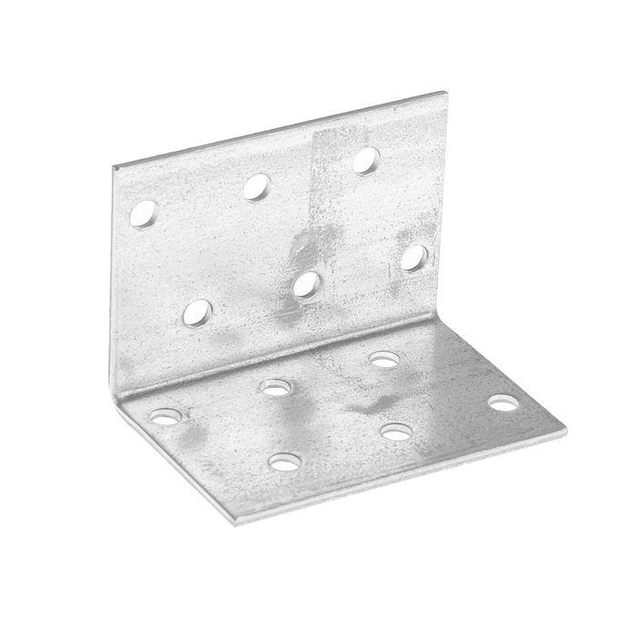 Уголок крепежный равносторонний TUNDRA krep, 40х40х60х2 мм, в упаковке 50 шт.