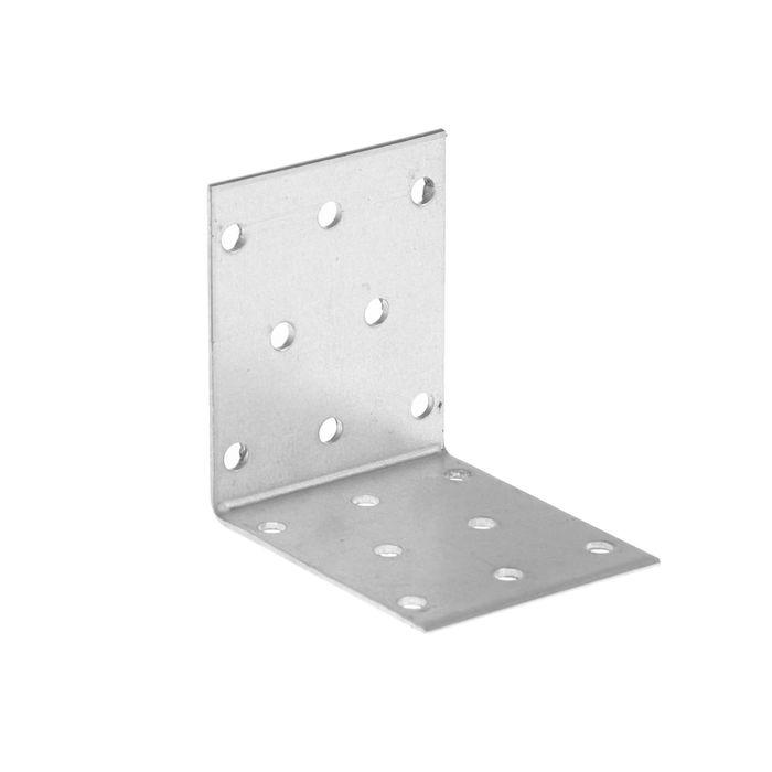 Уголок крепежный равносторонний TUNDRA krep, 60х60х50х2 мм, в упаковке 50 шт.