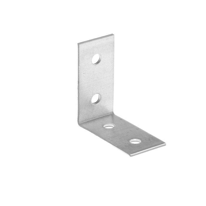 Уголок крепежный равносторонний TUNDRA krep, 40х40х20х2 мм, в упаковке 200 шт.