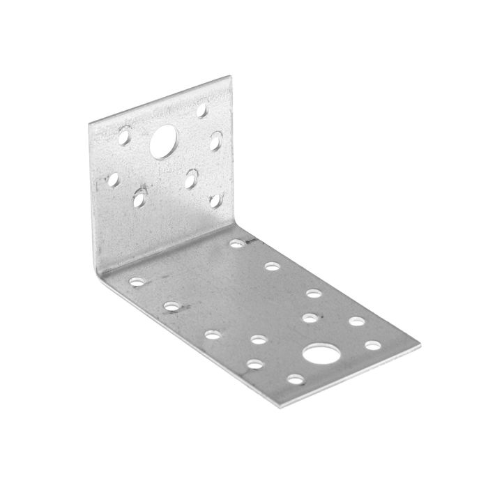 Уголок крепежный асимметричный TUNDRA krep, 90х50х55х2 мм