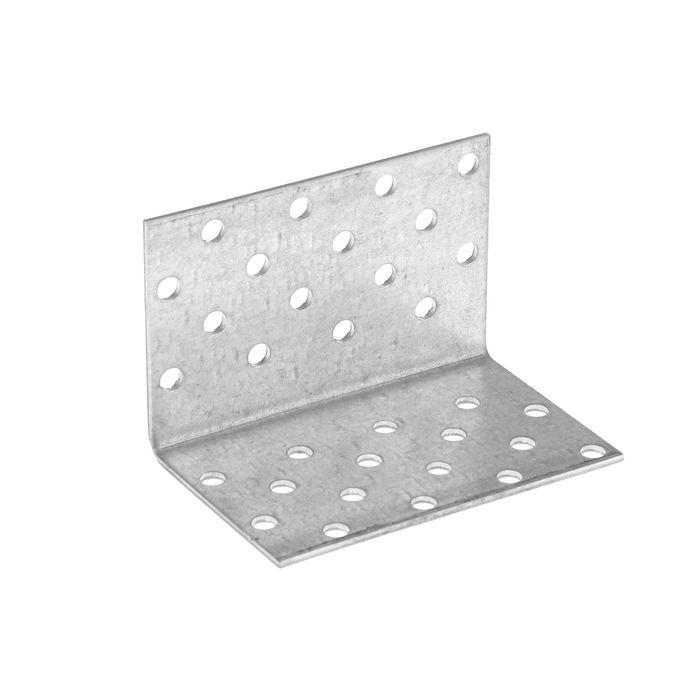 Уголок крепежный равносторонний TUNDRA krep, 50х50х80х2 мм, в упаковке 50 шт.