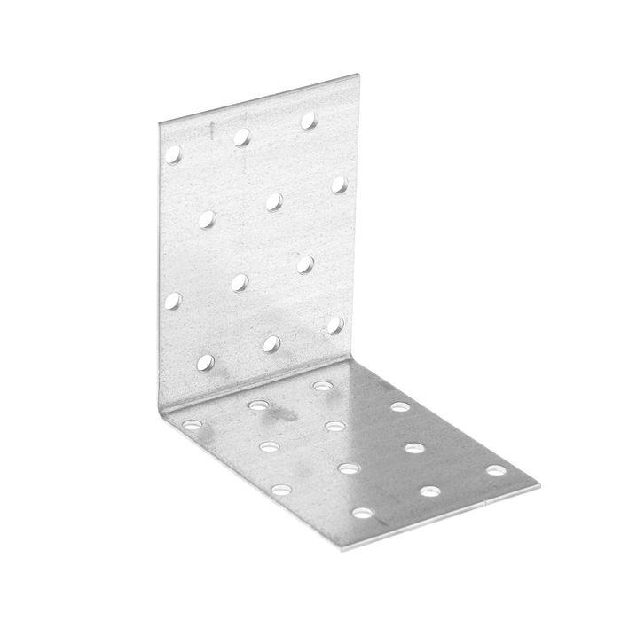 Уголок крепежный равносторонний TUNDRA krep, 80х80х60х2 мм, в упаковке 50 шт.