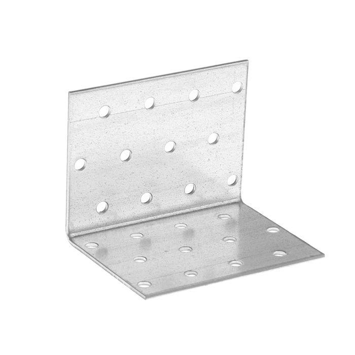 Уголок крепежный равносторонний TUNDRA krep, 60х60х80х2 мм, в упаковке 50 шт.