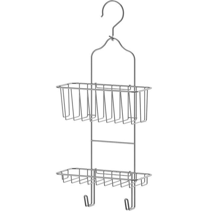 Вешалка для душа ИММЕЛЬН, 2 уровня, оцинкованная сталь