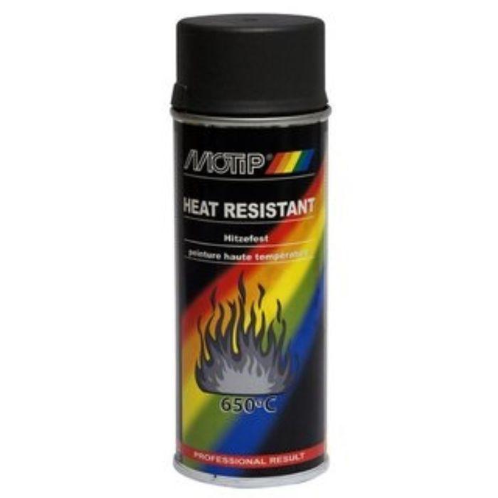 Деко Эмаль термостойкая черная, 400 мл, MOTIP