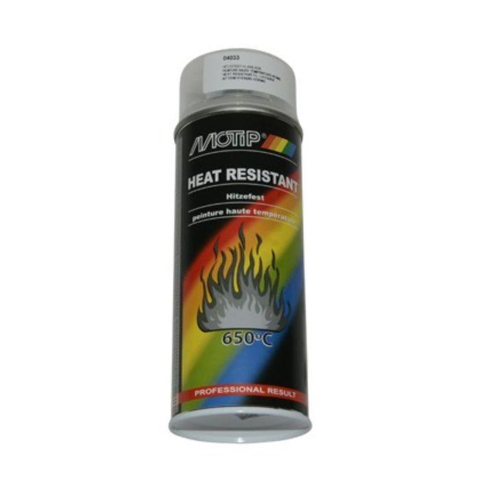 Лак термостойкий бесцветный, 400 мл, MOTIP