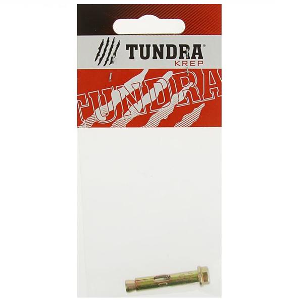 Болт анкерный с гайкой Tundra Krep 6.5х36 мм в пакете 1 шт.