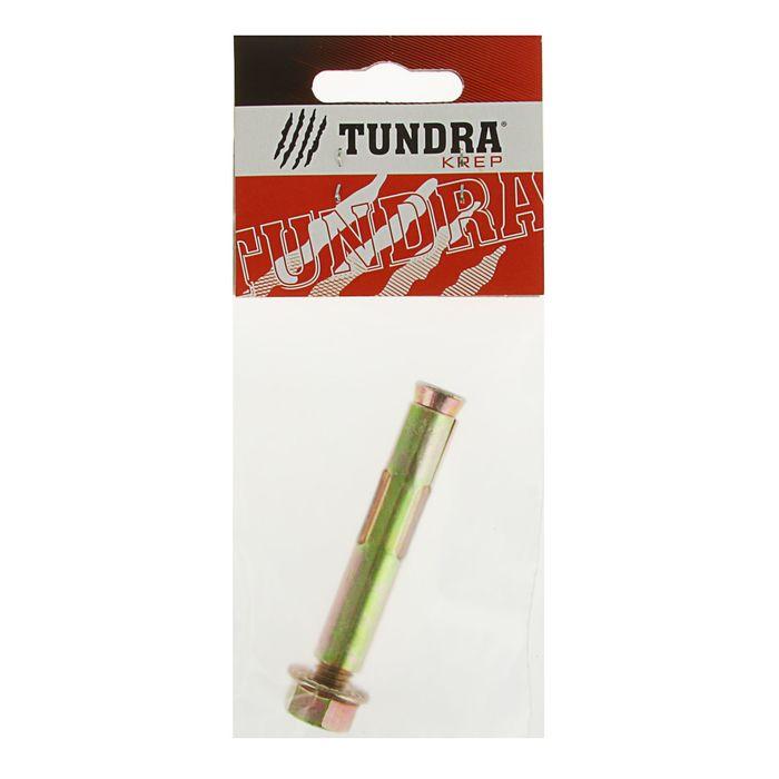 Болт анкерный с гайкой TUNDRA krep, 12х75 мм, в пакете 1 шт.
