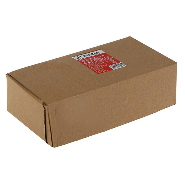 Болт с шестигранной головкой TUNDRA krep, DIN 933, М12х60, к.п. 8.8, оцинк., 5 кг (83 шт.)