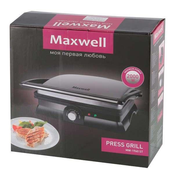 Гриль-пресс Maxwell MW-1960 ST
