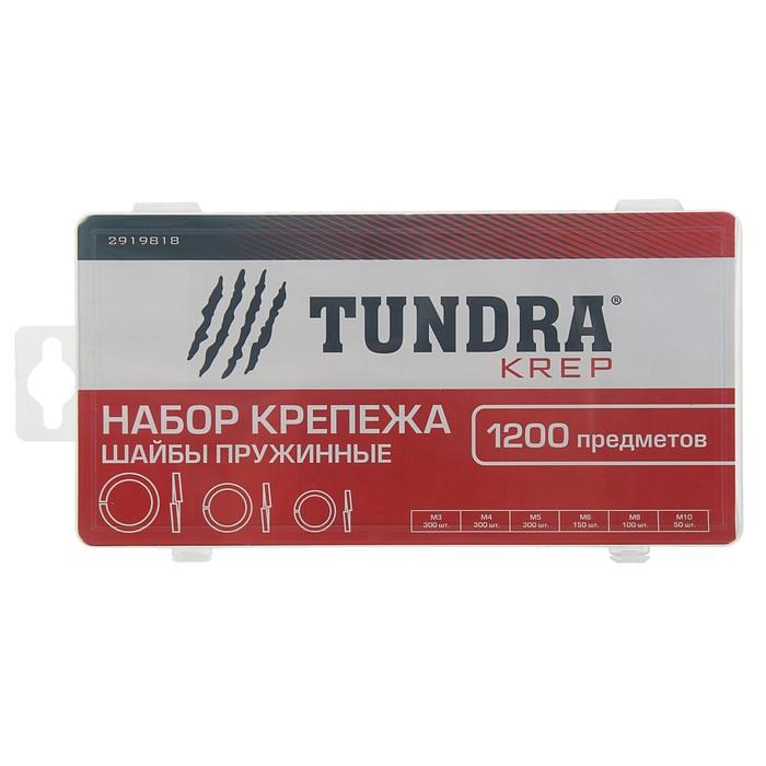 Набор шайб пружинных TUNDRA krep, 1200 предметов
