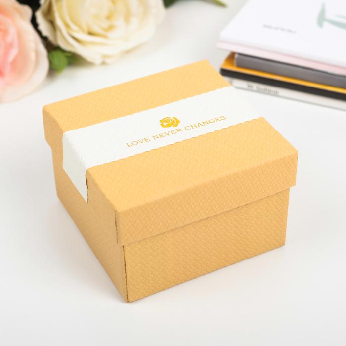 Коробка подарочная 9 х 9 х 6 см
