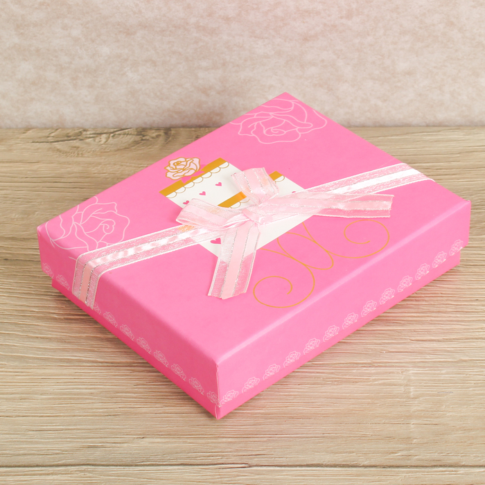 Коробка подарочная 14,5 х 12 х 3,5 см
