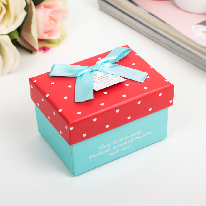 Коробка подарочная 10 х 7,5 х 6,5 см