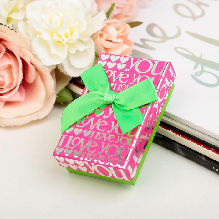 Коробка подарочная 5 х 8 х 2,5 см