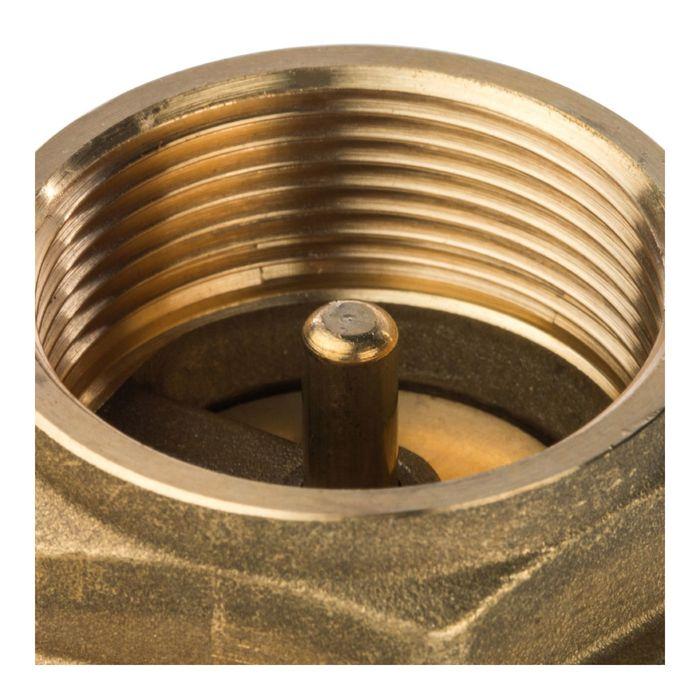 """Обратный клапан STOUT, 1""""1/2, пружинный, муфтовый, с металлическим седлом, SVC-0001-000040"""