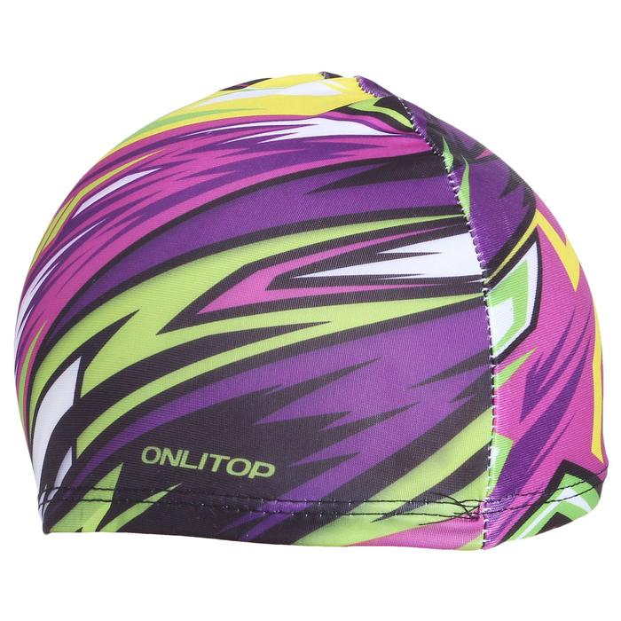 Шапочка для плавания ONLITOP Action, детская, текстиль