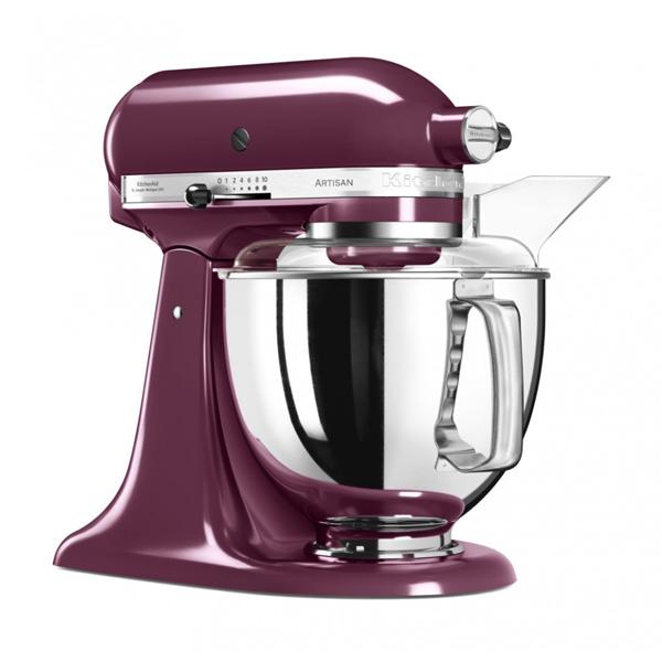 Миксер планетарный бытовой KitchenAid Artisan 5KSM175PSEBY, фиолетовый