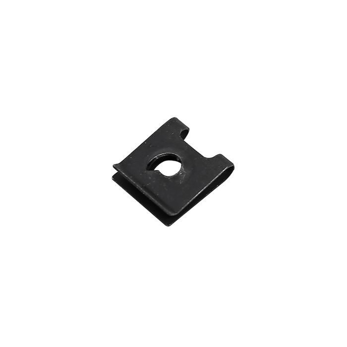 Клипса-фиксатор металлическая М4, универсальная, КП-0154