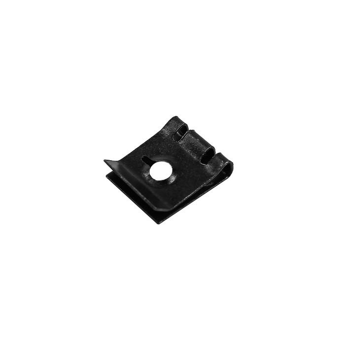Клипса-фиксатор металлическая М5, универсальная, КП-0156
