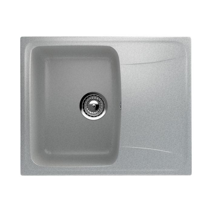 Мойка кухонная Ulgran U201-310, 580х470 мм, цвет серый