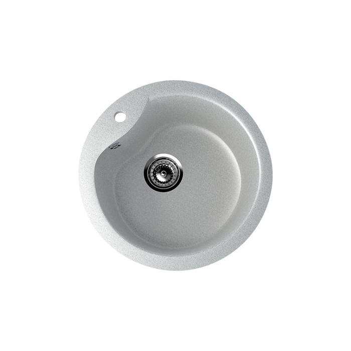 Мойка кухонная Ulgran U102-310, d=480 мм, цвет серый