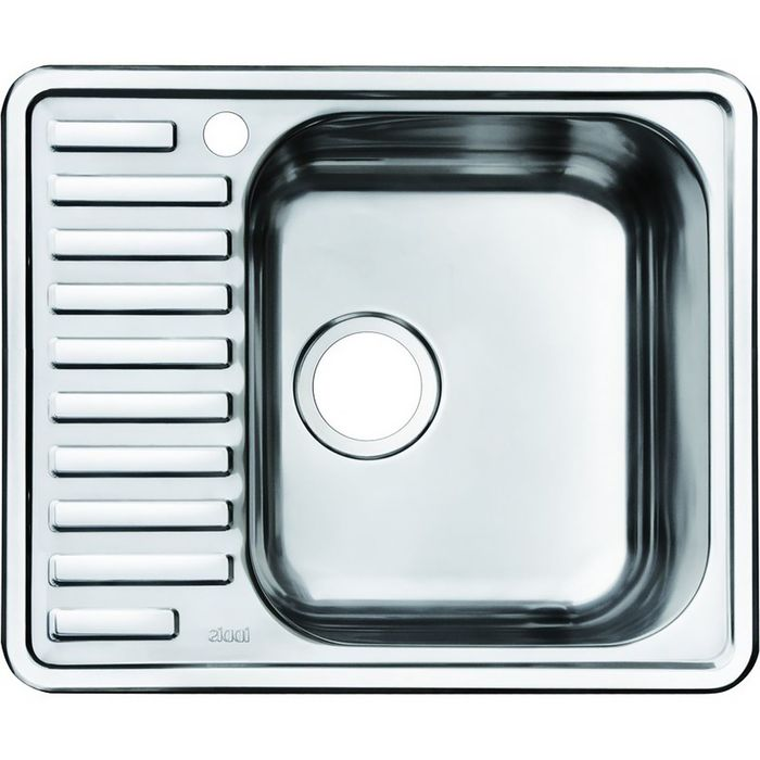 Мойка для кухни IDDIS Strit S,  STR58PRi77, полированная, чаша справа, 585х485 мм