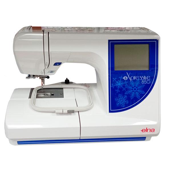 Швейная вышивальная машина Janome 850