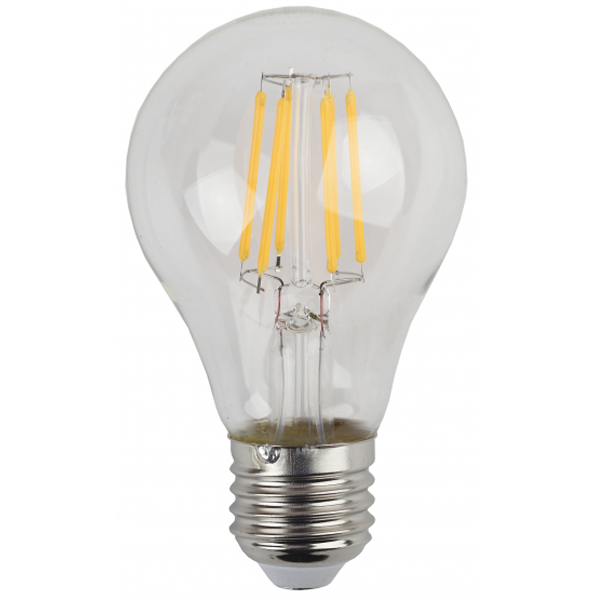 Лампа светодиодная ЭРА F-LED А60-7w-827-E27