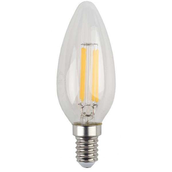 Лампа светодиодная ЭРА F-LED B35-5w-827-E14